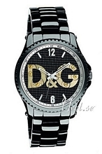 Dolce & Gabbana D&G Sort/Stål Ø44 mm