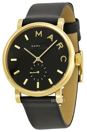 Marc by Marc Jacobs Baker Sort/Lær Ø37 mm MBM1269