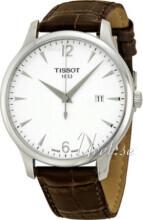 Tissot Tradition Hvit/Lær Ø42 mm