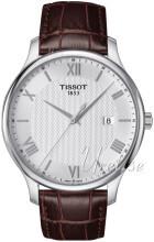 Tissot Tradition Gent Sølvfarget/Lær Ø42 mm